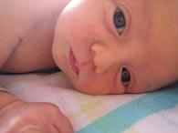 big eyed baby