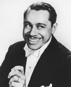 cab calloway -- you may know him from blues brothers where he sung minnie the moocher with its catch cry hi de hi de hi de hi