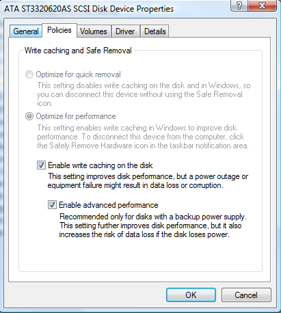 Enable Advanced Performance