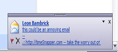 Annoying Outlook Popup