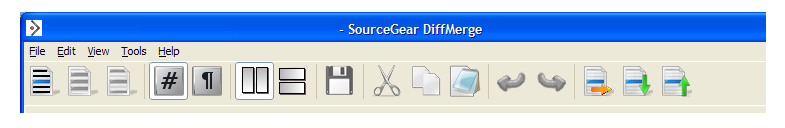 DiffMerge toolbar minor change