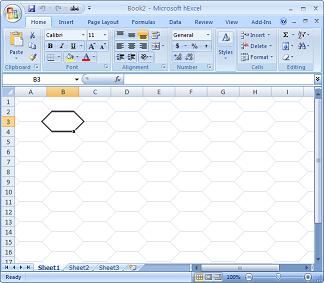hexcel, the hexagonal spreadsheet