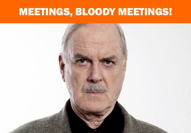 John Cleese: Meetings, Bloody Meetings.