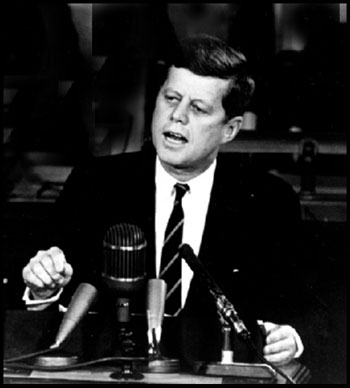 John F# Kennedy speaks his mind about programming techniques