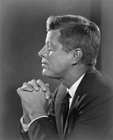 John F# Kennedy asks management for a second monitor
