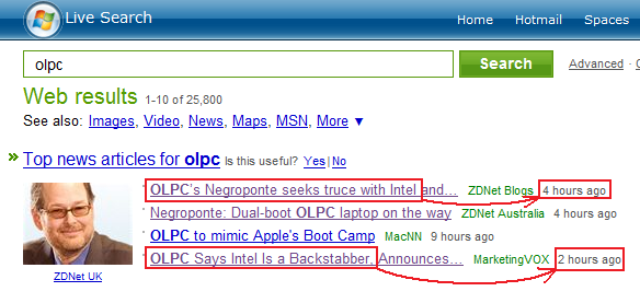 OLPC seeks a truce with intel... or... OLPC says intel is a backstabber