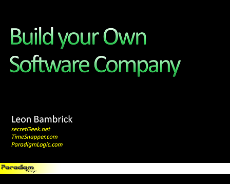 Build Your Own Software Company