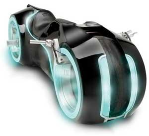 tron motorcycle just 55K