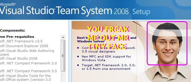 vs2008 install
