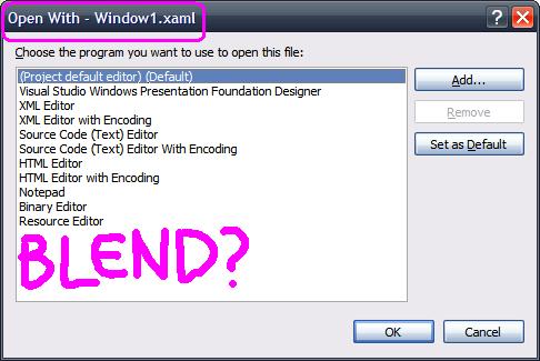 Worlds Simplest Code Generator -- WPF Edition