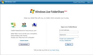 folder share